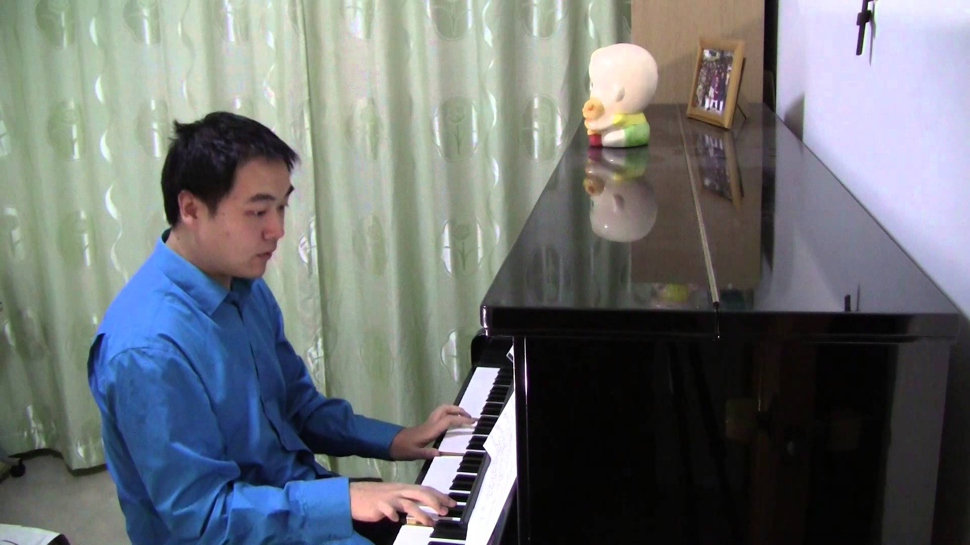 Julia Fischer – Grieg Piano Concerto, Part 01