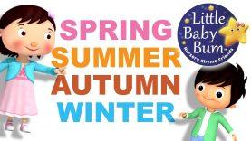 Seasons Song | 4 Seasons | Fall Version | Original Song by LittleBabyBum!